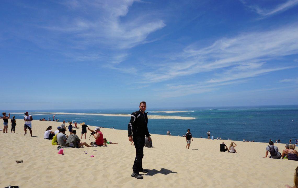 Frankreich Reise Tag 8: Ausblick von der Dune du Pilat