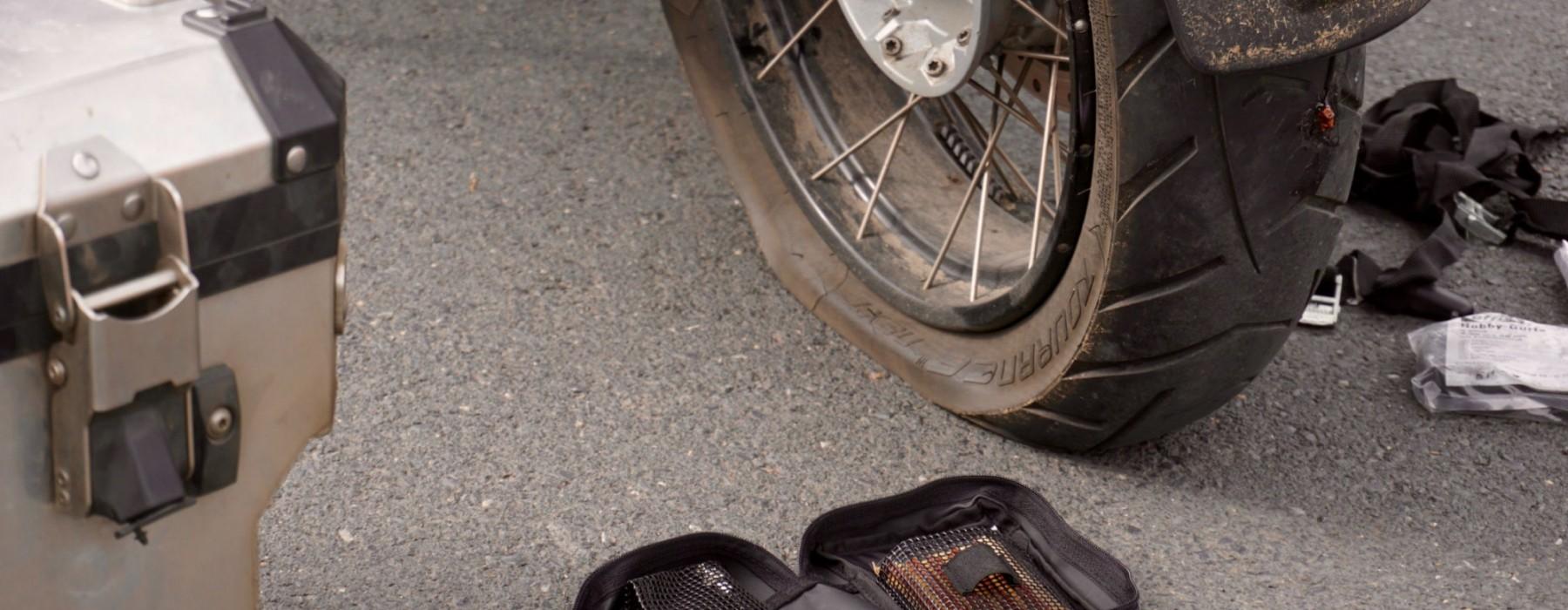 Frankreich Reise Tag 9: Reifenpanne in der Normandie